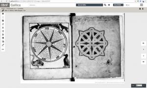 Manuscrit numérisé et description en ligne (i) sur Gallica du Ms. Hébreu 20.
