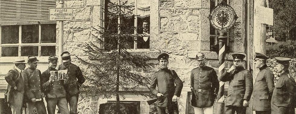 La frontière franco-allemande (1871-1914)