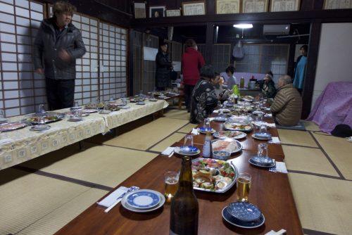 Préparation du banquet chez K.