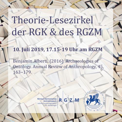 Theorie-Lesezirkel der RGZK und des RGZM; 10. Juli 2019