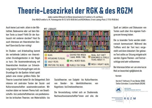 Theorie-Lesezirkel der RGK und des RGZM