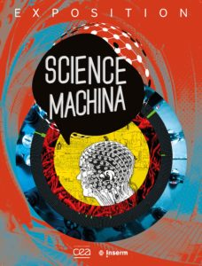"""Affiche de l'exposition """"Science Machina"""""""