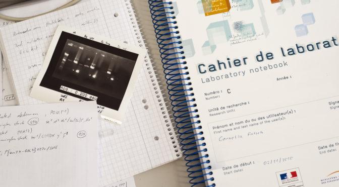 Cahier de laboratoire