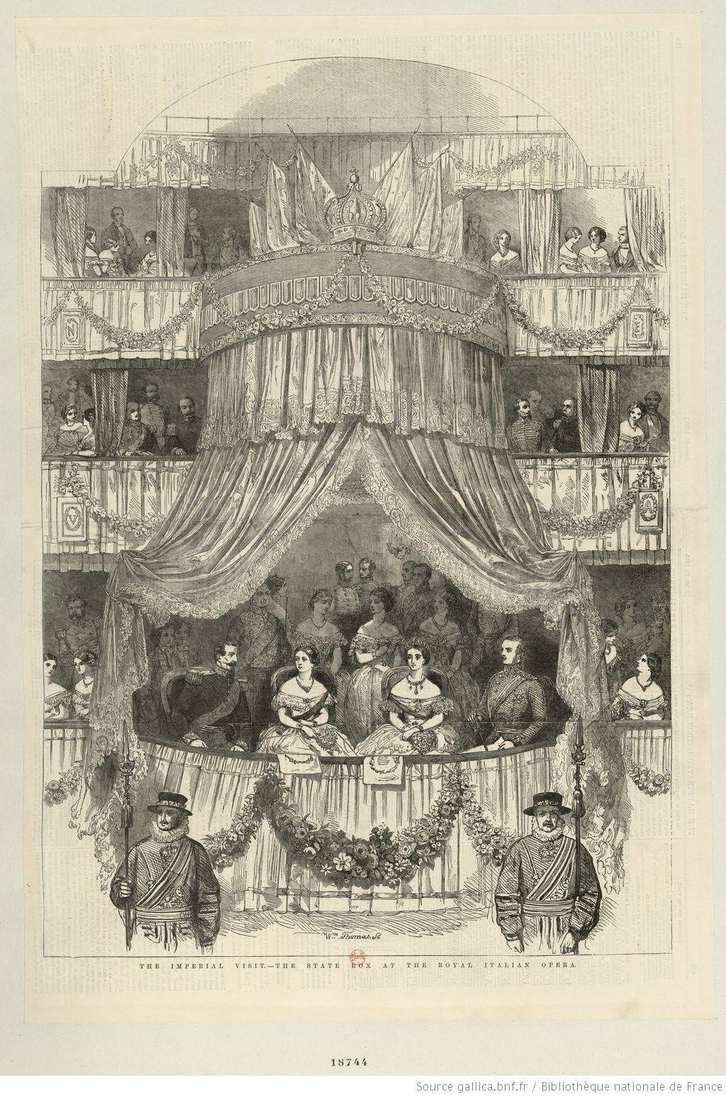 Loge impériale au Théâtre-Italien.