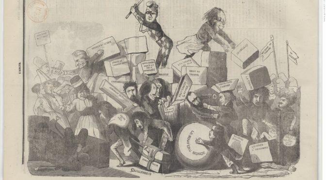 """1848 et la """"foire aux idées nouvelles"""" (Partie II)."""