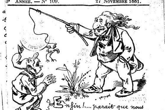 """Les images ont parlé !   """"le Pensionnat Bourbon"""" (1882)"""
