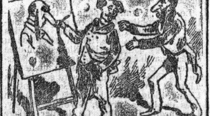 Les images ont parlé ! Une séance de caricatures évoquée à la chambre des députés en 1884