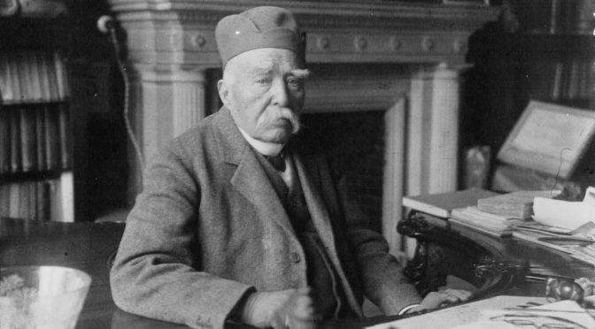 """""""Année Clemenceau"""" – après-midi d'étude à la BnF  « Georges Clemenceau et la culture : d'une bibliothèque à l'autre »"""
