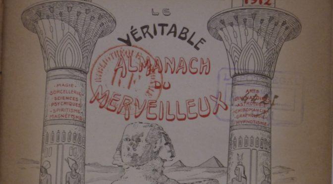 Almanach du chercheur associé – III. Le merveilleux scientifique… en almanach !