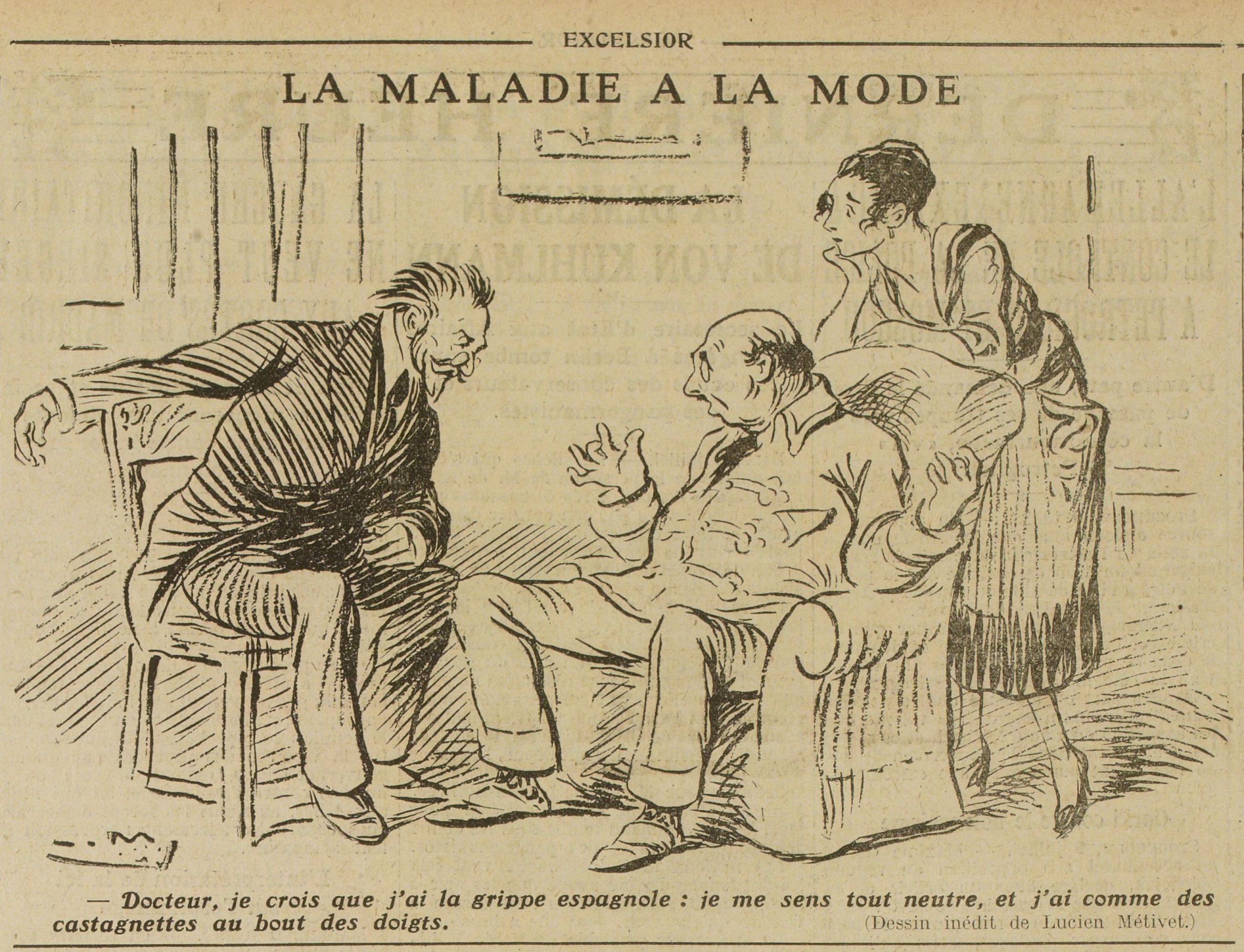 Série – L'humour face aux épidémies