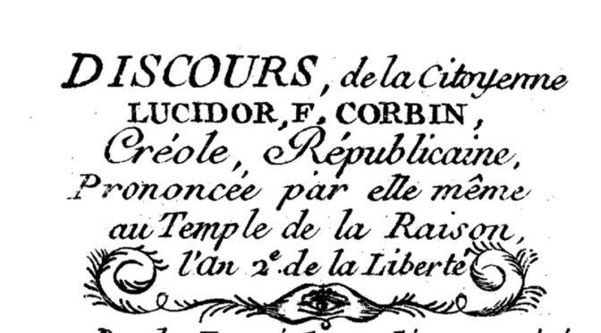 Les premiers abolitionnistes Noirs en métropole (1789-1794)