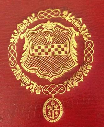 Superlibris de Lord Stuart de Rothesby (1779-1845)