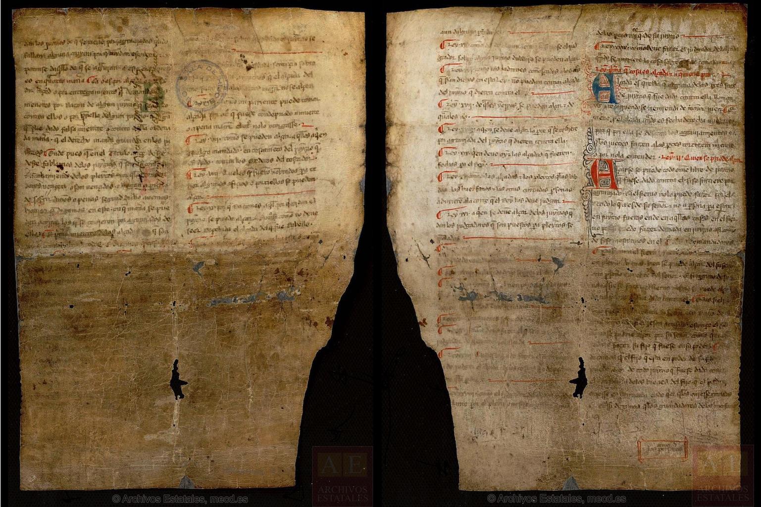 Archivo de la Real Chancillería de Valladolid, pergaminos, carpeta 192-5