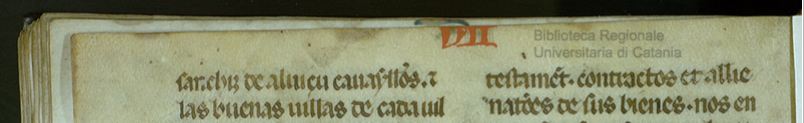 Margen superior del fol. 116v