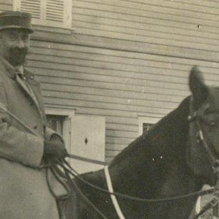 Photographie de Marcel Mauss pendant la Première Guerre mondiale