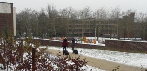 Louvain-La-Neuve, janvier 2019. Crédits : Badia Bsaiti