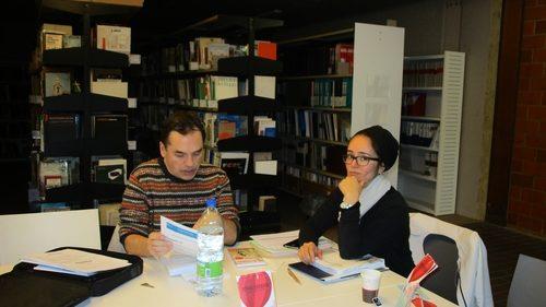 Bibliothèque BAIU Louvain La Neuve. Janvier 2019. Crédits L Bizien
