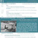 Programme journées d'étude Femmes ethnologues
