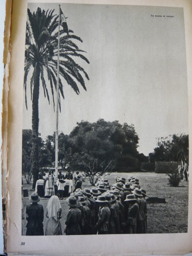 Campo coloniale in Libia