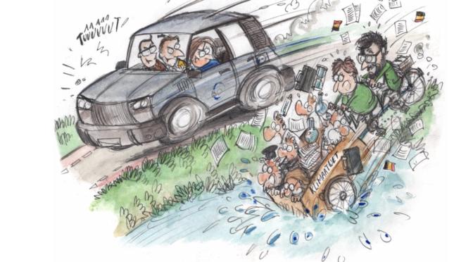 FIN DE L' ACTE I – pas de loi spéciale climat pour la Belgique