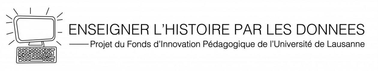 Enseigner l'histoire par les données