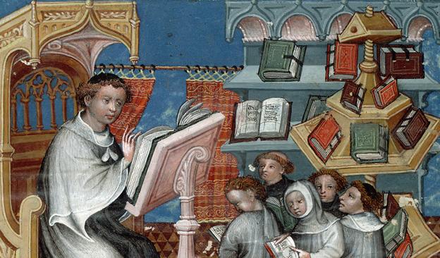 """Colloque international : """"Les bibliothèques à l'âge du manuscrit. Orient et Occident"""""""