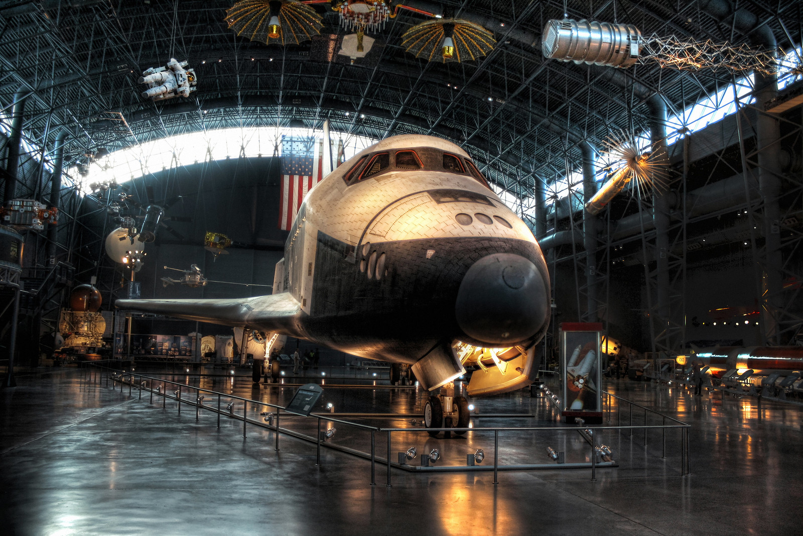 Chantilly VA - Steven F. Udvar-Hazy Center - Space Shuttle Enterprise OV-101 12, October 21, 2011 | © Courtesy of Daniel Mennerich/Flickr.