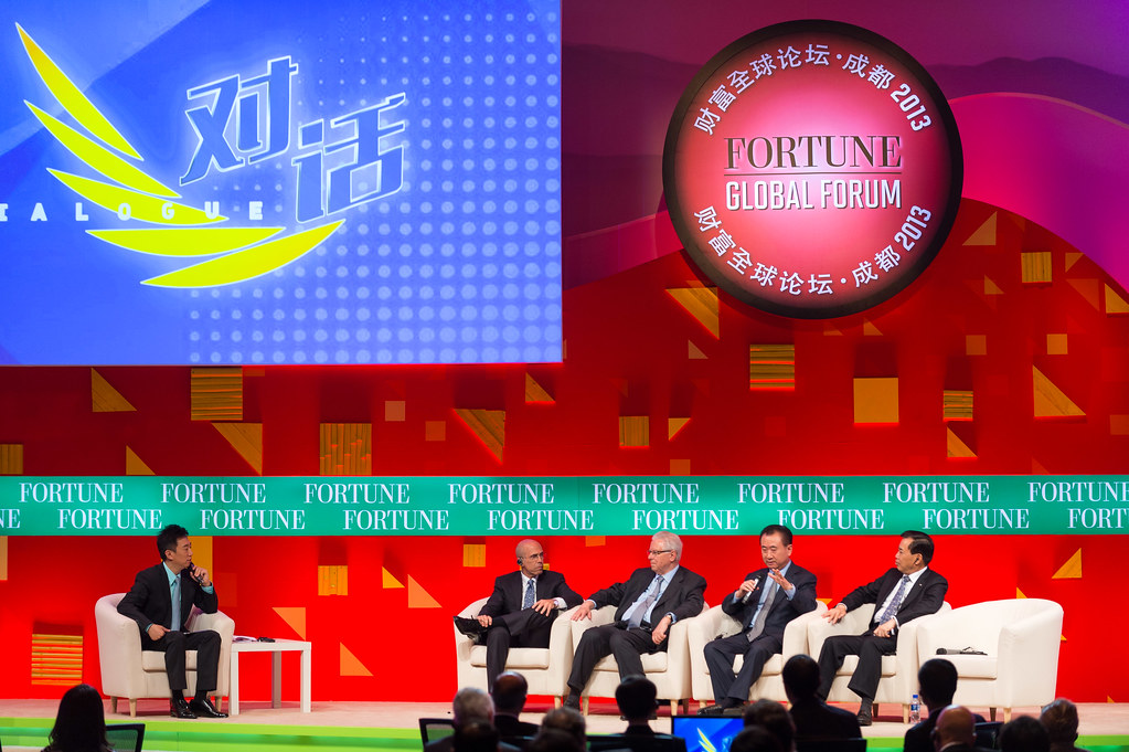 Fortune Global Forum 2013, Chengdu, China, June 5, 2013 | © Courtesy of Stuart Isett/ Fortune Global Forum/Fortune Live Media/Flickr.