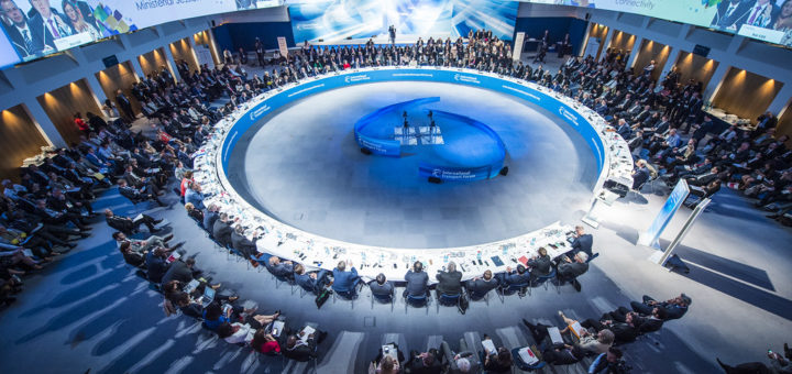"""The Open ministerial session: Governance for global transport connectivity, the International Transport Forum's 2017 Summit on """"Governance of Transport,"""" Leipzig, Germany, June 1, 2017 