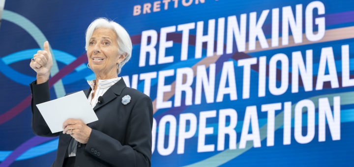 SM19 - Bretton Woods at 75 - Rethinking International Cooperation, April 10, 2019 | © Courtesy of Stephen Jaffe/International Monetary Fund/Flickr.