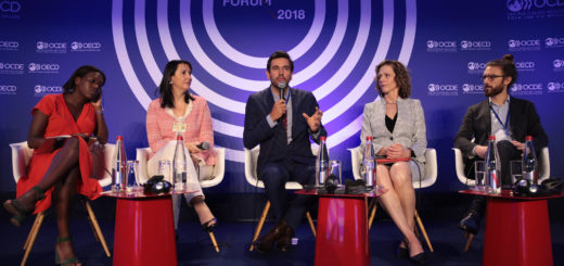 OECD Forum 2018 - Session: The Centrality of Data, OECD, Paris, France,May 30, 2018 | © Courtesy of MarcoIlluminati/OECD Organisation for Economic Co-operation and Development/Flickr.