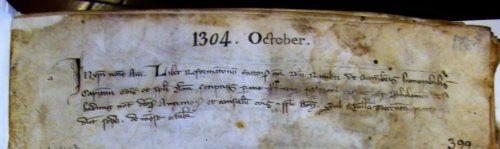 Intitulation des registres (Bologna)
