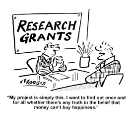 how to find grants for research