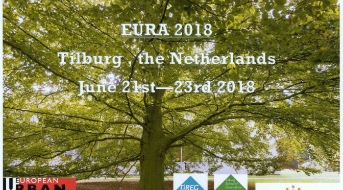 Louise Jammet au PhD Workshop de l'EURA | 20/06/2018