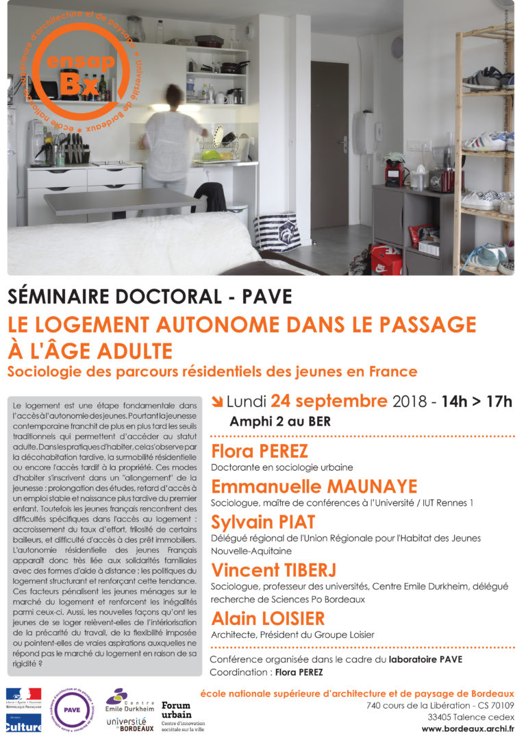 SEMINAIRE DOCTORAL | 24/09/2018