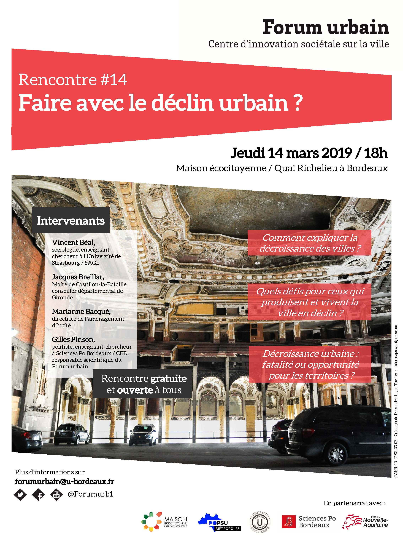 rencontre #14 du forum urbain