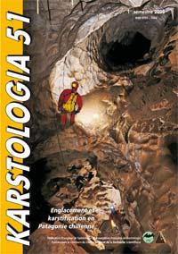 couverture du n° 51 de la revue Karstologia