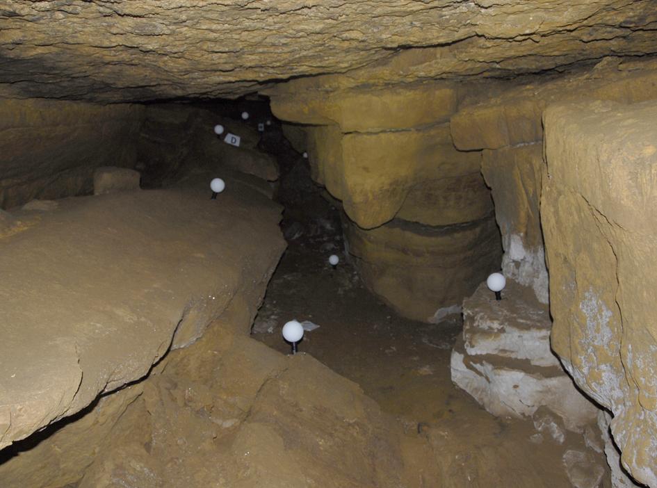 Numérisation 3D du secteur 16 de la grotte des Fraux