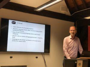 Peter Boot presenting