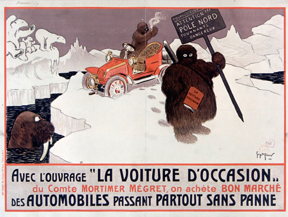 Affiche / Illustration de Georges Meunier, 1904.
