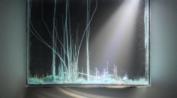 """""""Présage"""" de Hicham Berrada : art expérimental / expérimentation artistique"""