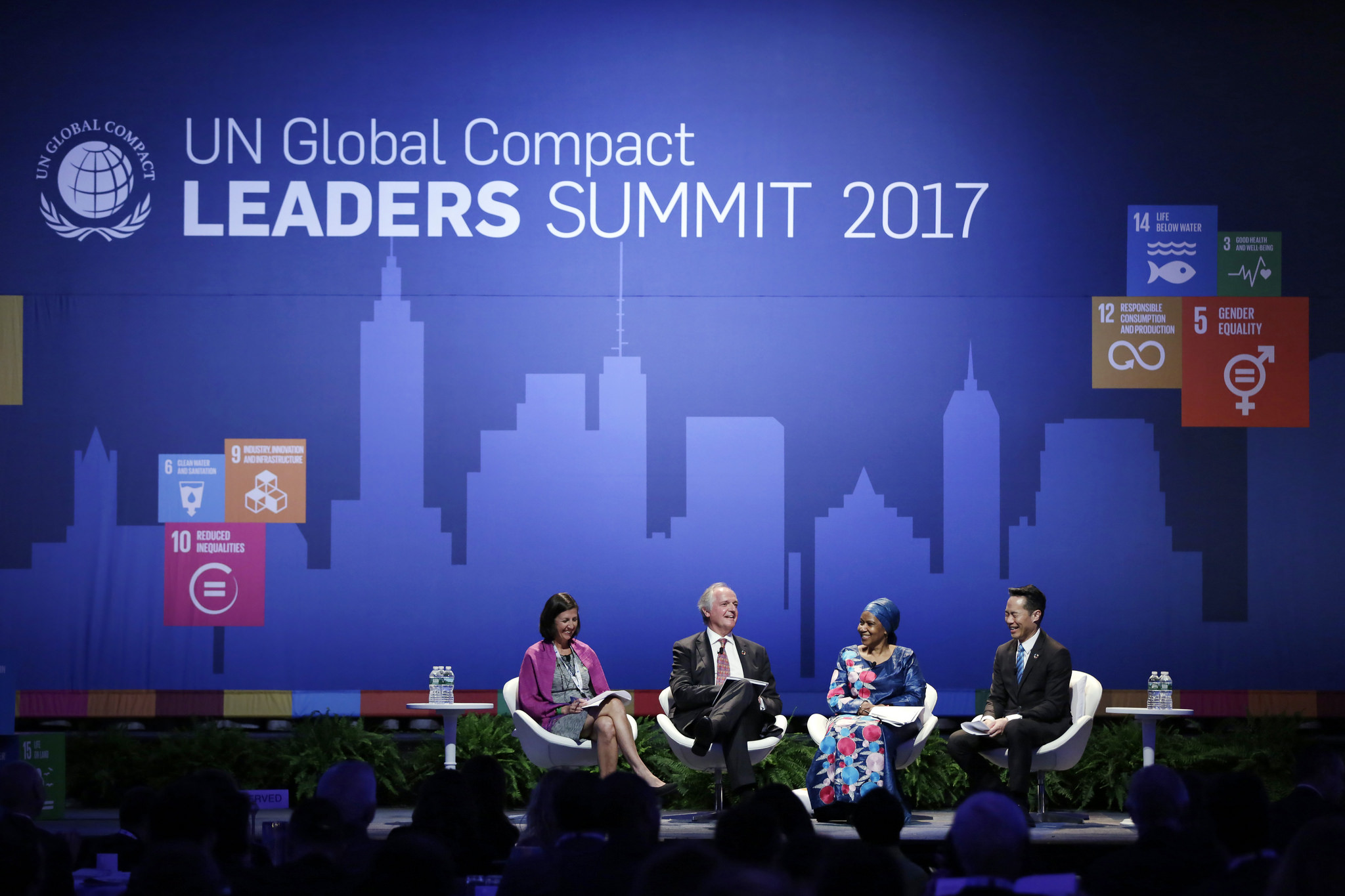 GA72 - UN Global Compact Leaders Summit, United Nations, New York, NY, USA, September 21, 2017   © Courtesy of Ryan Brown/UN Women/Flickr.