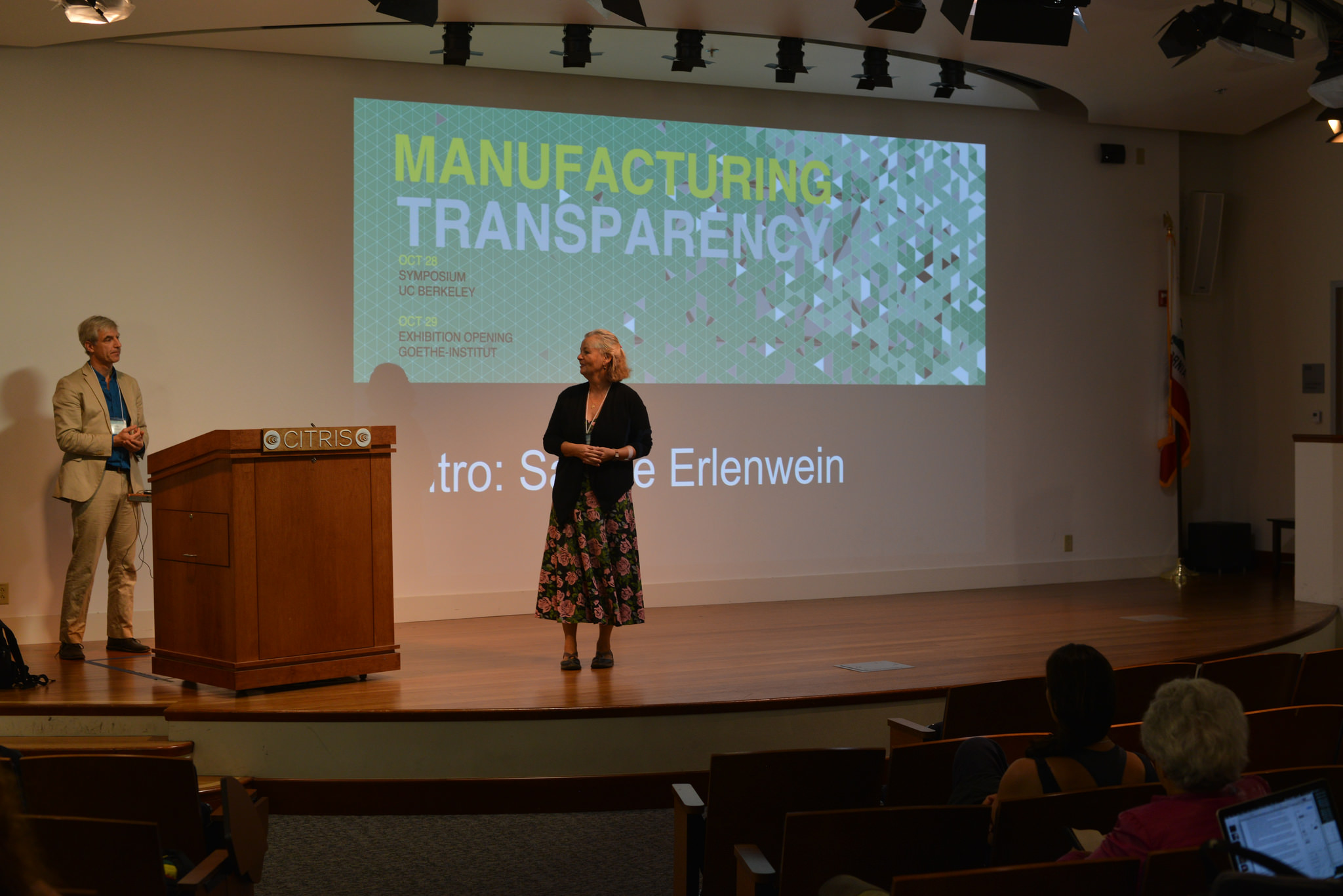 Manufacturing Transparency, Conference on Manufacturing Transparency, Berkeley, CA, USA, October 28, 2015 | © Courtesy of Berkeley Center for New Media/Flickr.