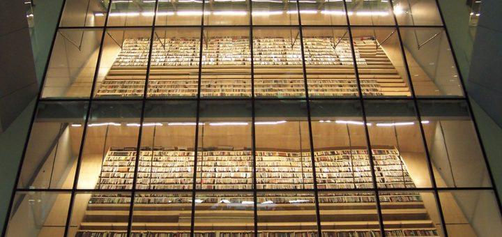 Inside the National Library of Latvia, Riga, Latvia, September 2017 | © Courtesy of TeaMeister/Flickr.