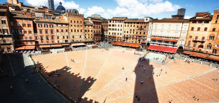 """""""Siena's Pride,"""" Piazza del Campo, Siena, Italy, August 6, 2010 