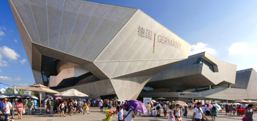 Germany Pavilion, Shanghai EXPO 2010, Shanghai, China, March 8, 2011 | © Courtesy of Wojtek Gurak/Flickr.