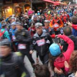 Runners departing through Chamonix for the start of the 2012 North Face Ultra Trail du Mont Blanc, Chamonix-Mont-Blanc, Rhône-Alpes, France, August 31, 2012 | © Courtesy of Richard Allaway/Flickr.