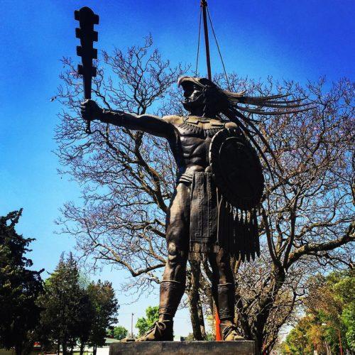 Statue de Tlaltecuhtli.