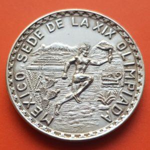 Sede de la XIX olimpiada Mexico