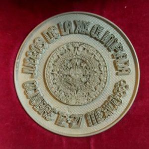 Juegos de la XIX olimpiada Octubre 12-27 Mexico 68